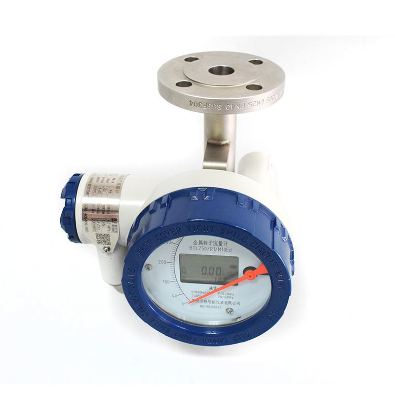 金属管转子流量计正确安装达到想要的精度