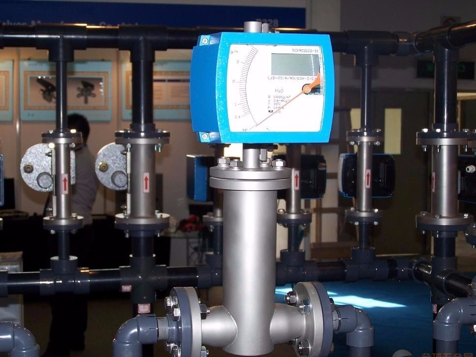 本安型水平安装金属转子流量计