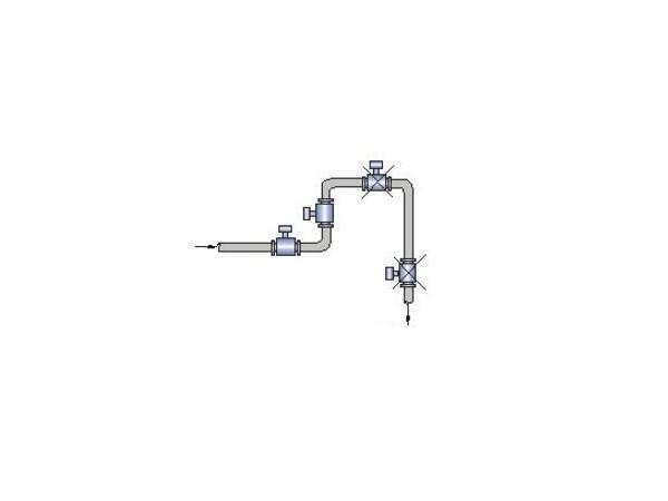 简单快捷安装电磁流量计的方法