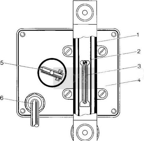 法兰微小型金属转子流量计尺寸图